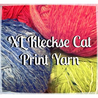 Paradise Fibers Yarn Schoppel Wolle XL Kleckse Cat Print Yarn  - 2