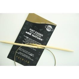 Addi Natura 40 inch Bamboo Circular Knitting Needles 100cm 2US (3mm) - 2