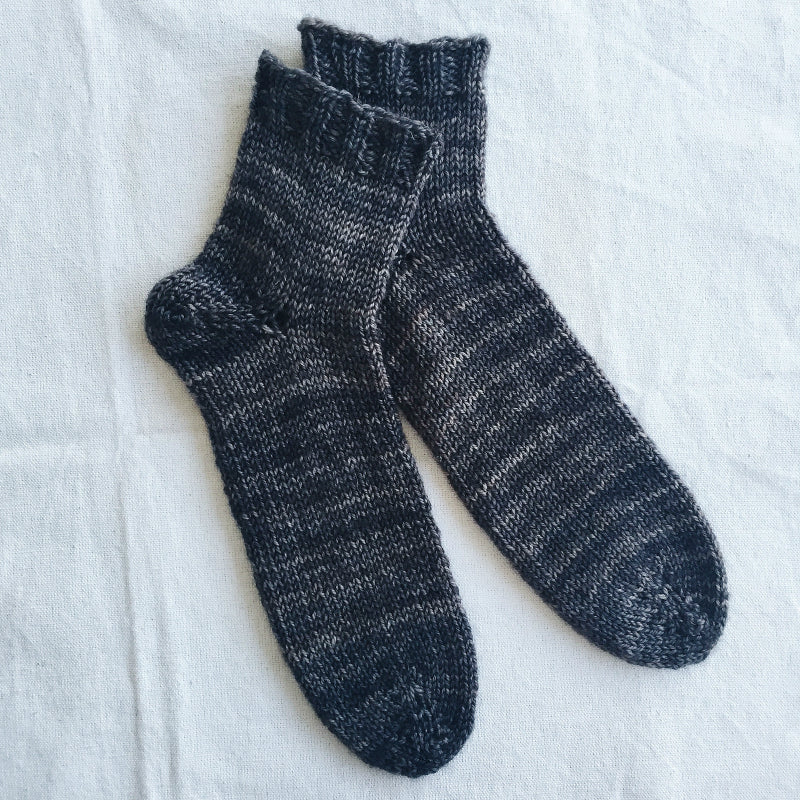 Afterthought Socks Pattern-Patterns-Paradise Fibers