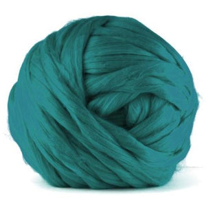 Paradise Fibers VEGAN Dyed Acrylic Roving - Duck Egg-Fiber-4oz-