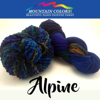 Mountain Colors Twizzlefoot Yarn Alpine - 2