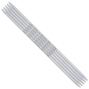 "Addi Aluminum Double Point Needles - 8""-Knitting Needles-Paradise Fibers"