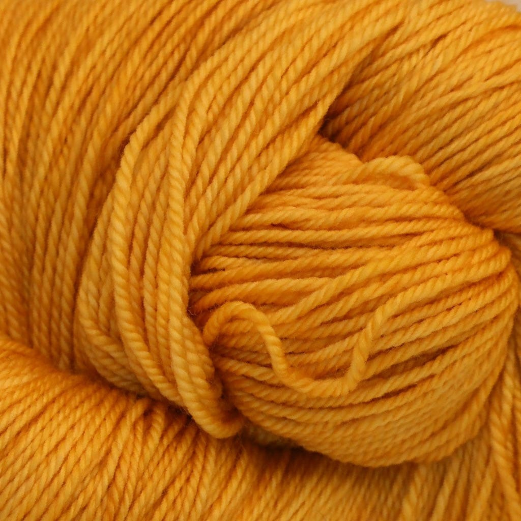 Paradise Fibers Yarn Ancient Arts DK Yarn - Meow Collection Cat's Eye Gold - 23