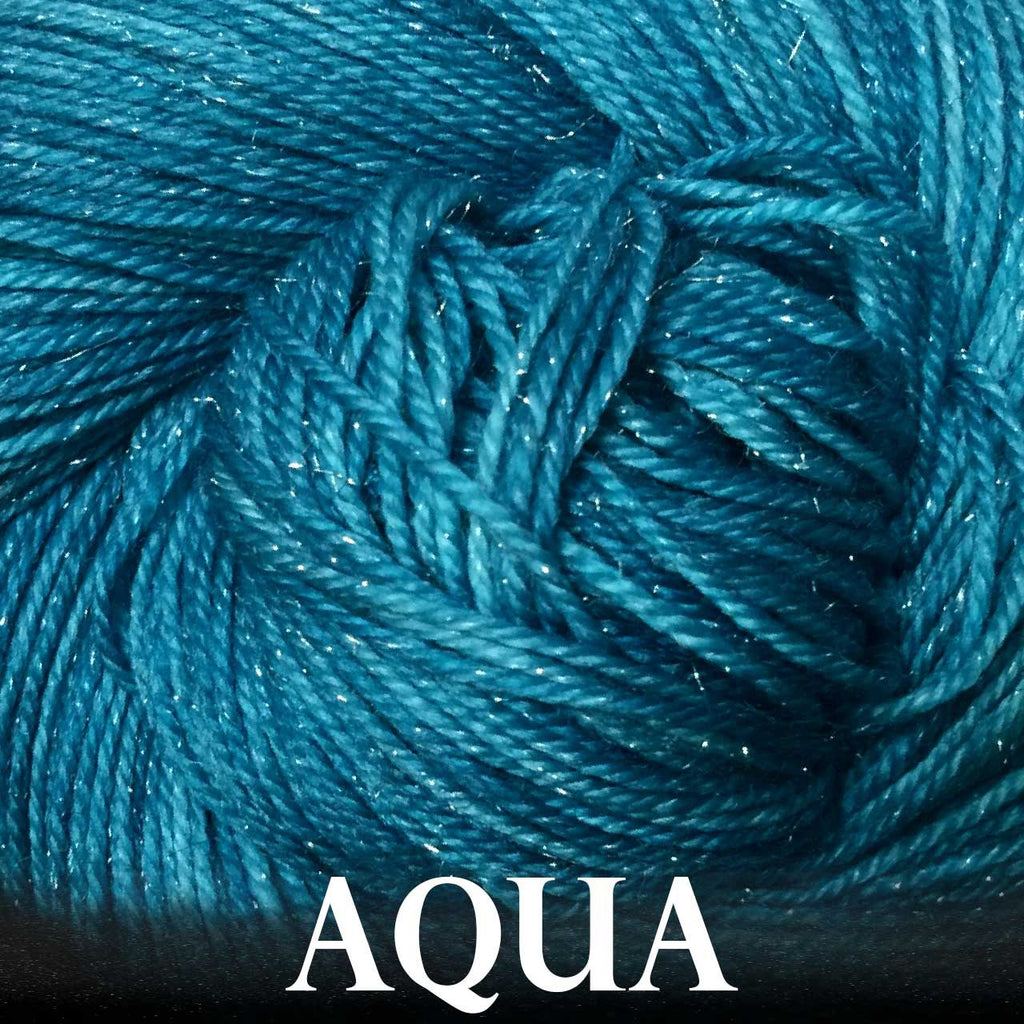 Paradise Fibers Yarn Anzula Luxury Nebula Yarn Aqua - 5