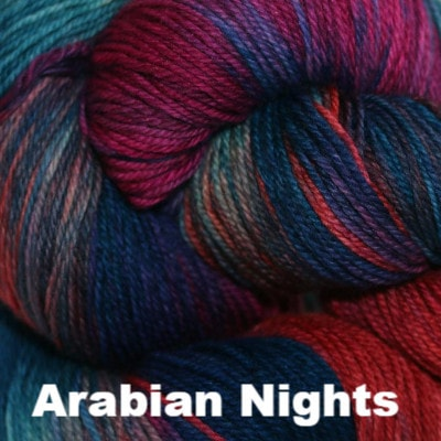 Paradise Fibers Yarn Three Irish Girls Adorn Sock Yarn Arabian Nights - 12