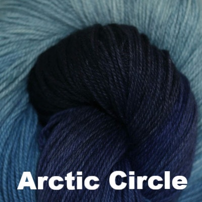 Paradise Fibers Yarn Three Irish Girls Adorn Sock Yarn Arctic Circle - 7