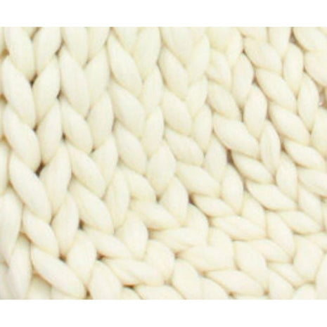 Soft Undyed Merino Jumbo Yarn 7lb Special For Arm Knitted Blankets