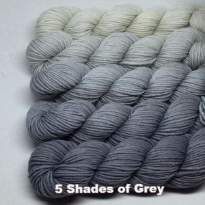 ArtYarns Zara Transitions Yarn Kit 5 Shades of Grey - 1