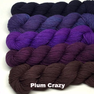 ArtYarns Zara Transitions Yarn Kit Plum Crazy - 3