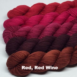 ArtYarns Zara Transitions Yarn Kit Red Red Wine - 6
