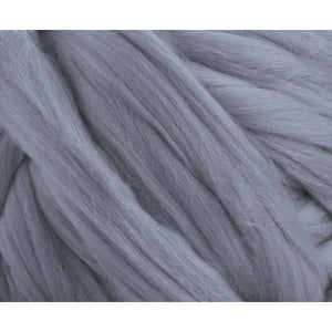 Soft Dyed (Ash) Merino Jumbo Yarn - 7lb Special for Arm Knitted Blankets-Fiber-