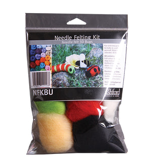 Ashford Needle Felting Kit - Bugs-Felting-Paradise Fibers