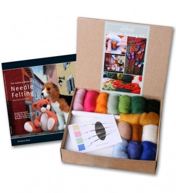 Ashford Needle Felting Starter Kit-Felting-Paradise Fibers