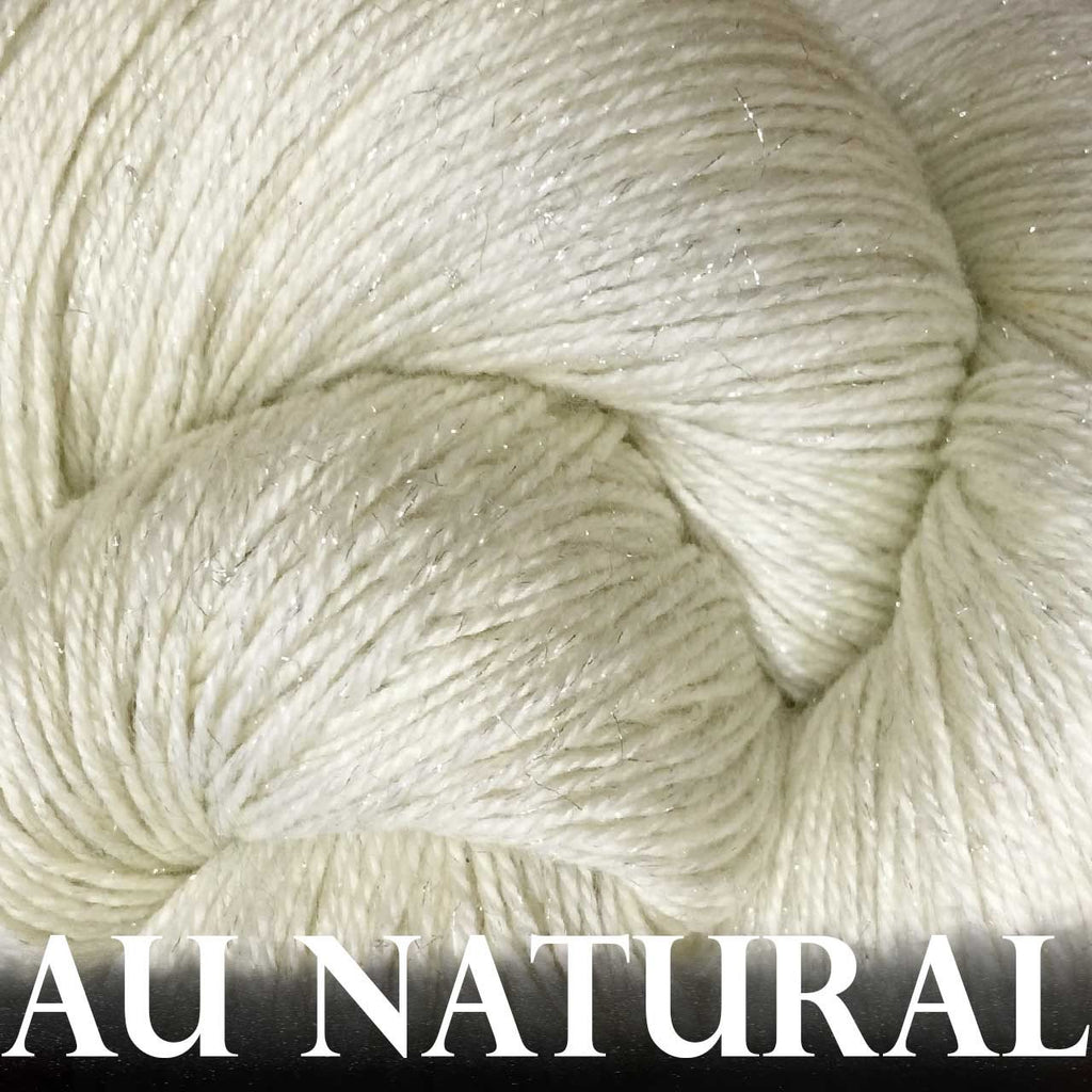 Paradise Fibers Yarn Anzula Luxury Nebula Yarn Au Natural - 8