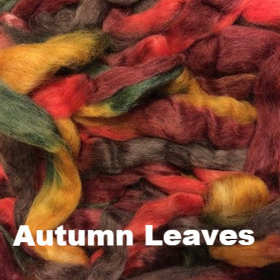 Louet Northern Lights Space Dyed Wool Tops (1/2 lb bags) Autumn Leaves - 21