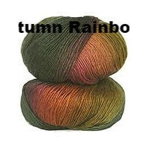 Crystal Palace Mini Mochi Yarn Autumn Rainbow 107 - 2