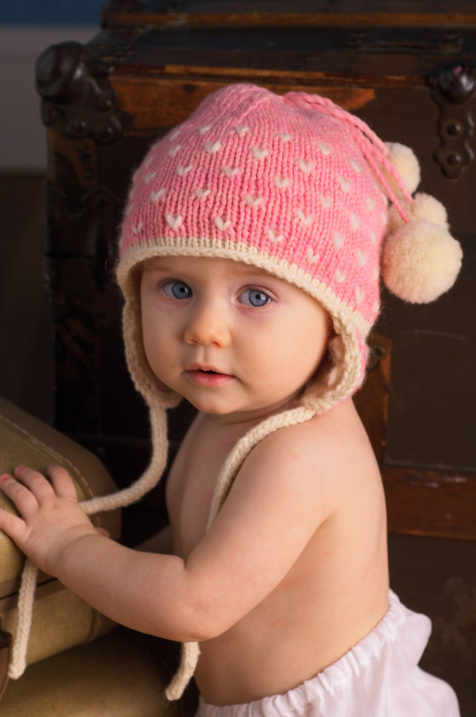 Appalachian Baby - Celtic Thrum Earflap Hat Kit  - 1