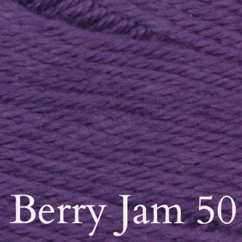 Ella Rae Cozy Soft Solids Yarn Berry Jam 50 - 42