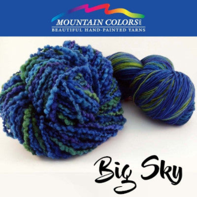 Mountain Colors Twizzlefoot Yarn Big Sky - 6