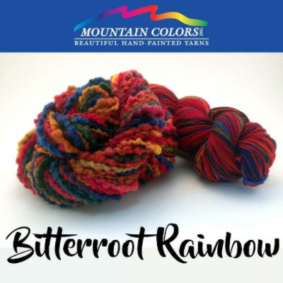 Mountain Colors Twizzlefoot Yarn Bitterroot Rainbow - 8