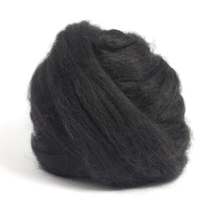 Paradise Fibers Baby Alpaca Top-Fiber-Black-4oz-