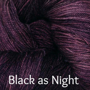 Palouse Yarn Company Cashmere Squeeze-Yarn-Black as Night-