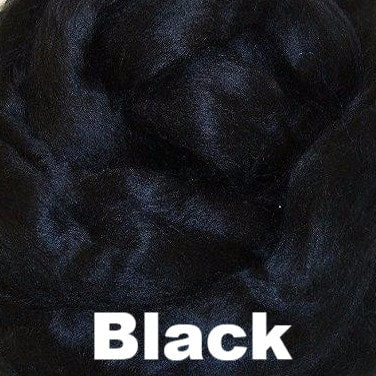 Ashland Bay Dyed Bamboo Top Fiber 4oz / Black - 7