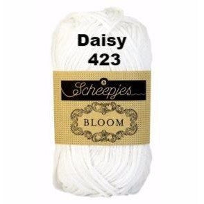 Paradise Fibers Yarn Scheepjes Bloom Yarn Daisy 423 - 22