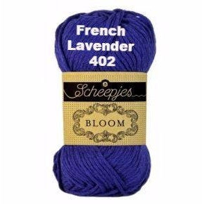 Paradise Fibers Yarn Scheepjes Bloom Yarn French Lavender 402 - 3