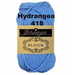 Paradise Fibers Yarn Scheepjes Bloom Yarn Hydrangea 418 - 23