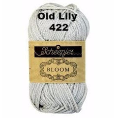 Paradise Fibers Yarn Scheepjes Bloom Yarn Old Lily 422 - 27