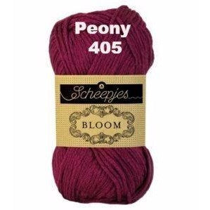 Paradise Fibers Yarn Scheepjes Bloom Yarn Peony 405 - 7