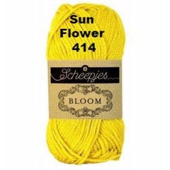 Paradise Fibers Yarn Scheepjes Bloom Yarn Sun Flower 414 - 17