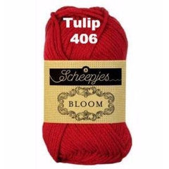 Paradise Fibers Yarn Scheepjes Bloom Yarn Tulip 406 - 8