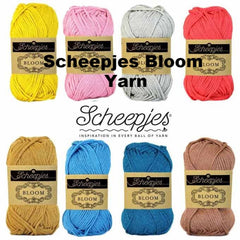 Paradise Fibers Yarn Scheepjes Bloom Yarn  - 1