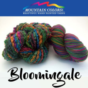 Mountain Colors Twizzlefoot Yarn-Yarn-Bloomingale-