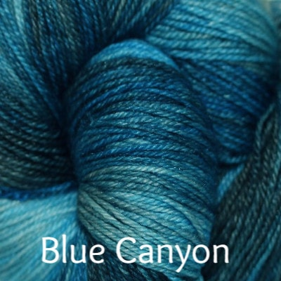 Palouse Yarn Company Cashmere Squeeze Blue Canyon - 6