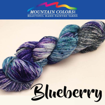 Mountain Colors Twizzlefoot Yarn Blueberry - 11