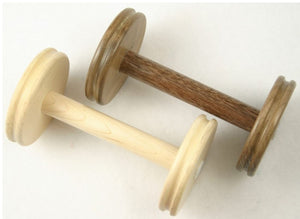 Lendrum Bobbins - Standard-Spinning Wheel Accessory-Maple-