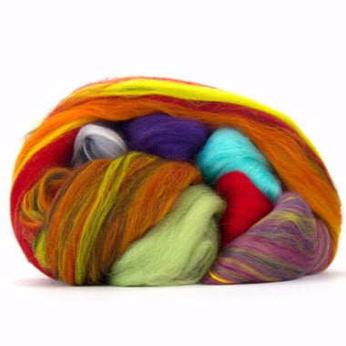 Pieces of Paradise- Blenders Delight Merino Top Assortment- 1 LB.-Fiber-Paradise Fibers-Paradise Fibers