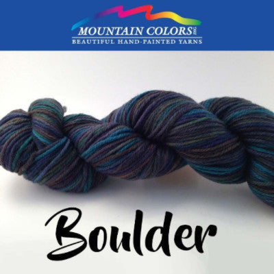 Mountain Colors Twizzlefoot Yarn Boulder - 13