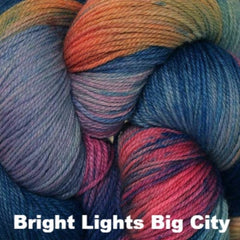 Paradise Fibers Yarn Three Irish Girls Adorn Sock Yarn Bright Lights Big City - 10
