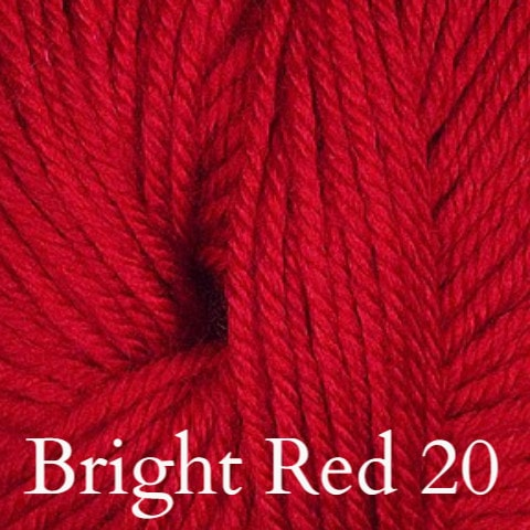 Ella Rae Cozy Soft Solids Yarn Bright Red 20 - 12