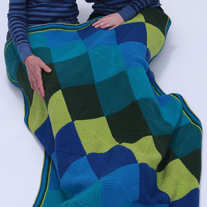 Brighter Miters Blanket Pattern-Patterns-