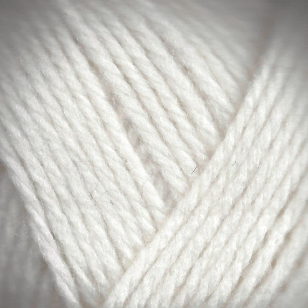 Paradise Fibers Lamb's Pride Superwash Worsted White Frost