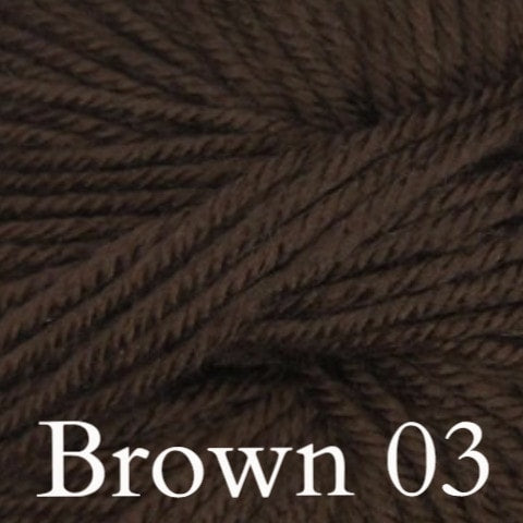 Ella Rae Cozy Soft Solids Yarn Brown 03 - 3