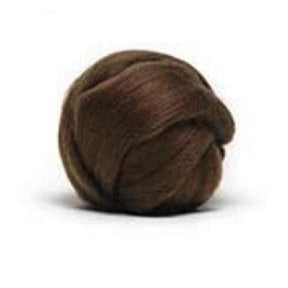 Louet Dyed Corriedale Top (1/2 lb bags) Brown - 2