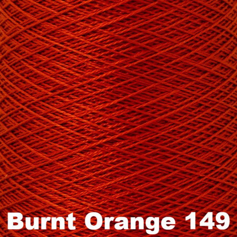 5/2 Perle Cotton 1lb Cones Burnt Orange 149 - 10