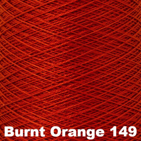 10/2 Perle Cotton 1lb Cones Burnt Orange 149 - 7