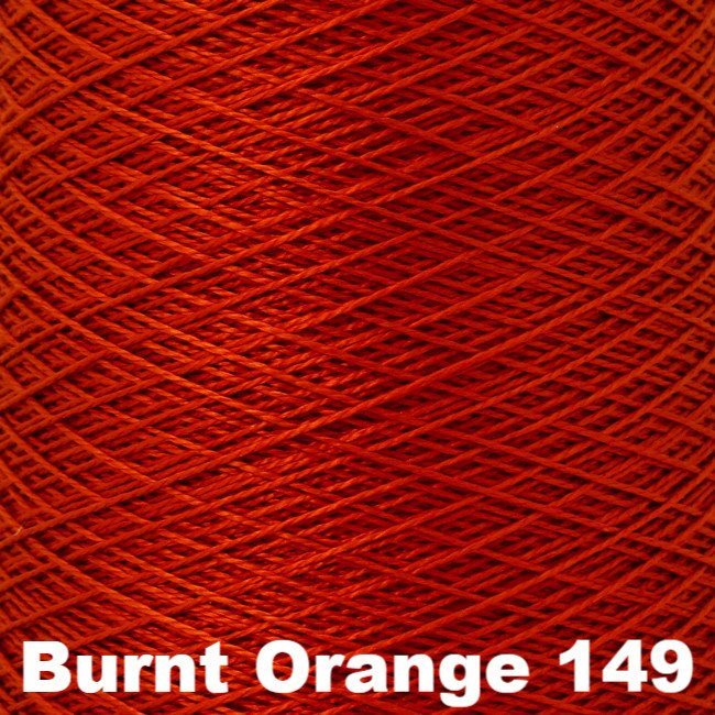 Paradise Fibers Weaving Cone kromski sonata spring Burnt Orange 149 - 10